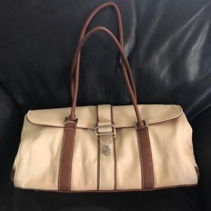 Issac Mizrahi beige Handbag - new